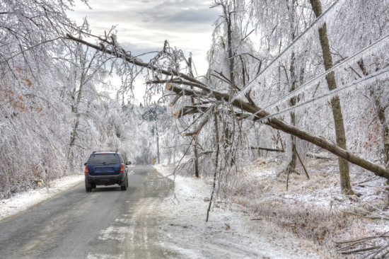 winter storm and power outages